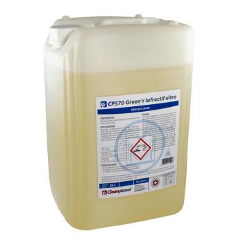 """Cp 570 - liquide lavage lave-vaisselle eau dure lufractif """"ecolabel"""" - bidon de 20 l"""