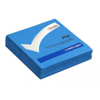 Lavettes non-tissees pva micro bleu 40 x 40 cm - paquet de 5