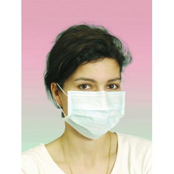 Masque de chirurgie haute filtration 3 plis a elastique - boite de 60