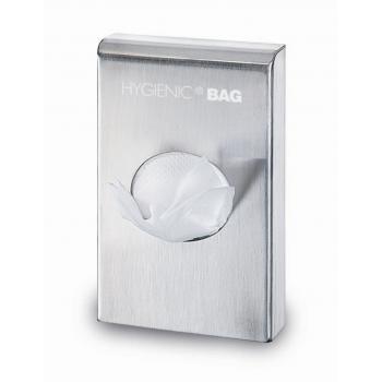 Distributeur de pochettes hygieniques chrome - unite