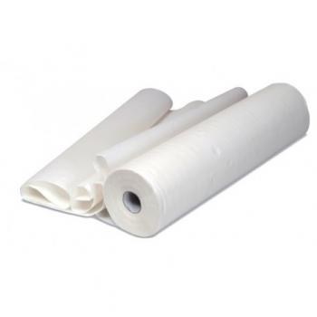 Drap d'examen cellulose blanc 2 plis - 84 x 38 cm - carton de 4 x 211 f