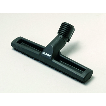 Brosse simple pour sols durs nilfisk a roulettes 300 mm - diam 32 mm - unite