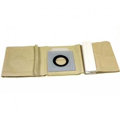 Sacs aspirateur tissu nilfisk vl500 55 et 75 l - paquet de 5 pieces