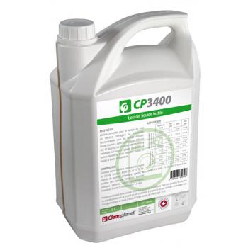 Cp 3400 - lessive liquide textile - bibon de 5 l