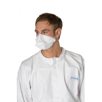 Masque pliable ffp2 sans soupape - carton de 50 x 10