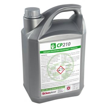 CP210 - Nettoyant sol désinfectant et désodorisant pomme - Bidon de 5 L