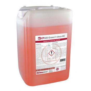 """Cp 580 - liquide rinçage vaisselle eau dure """"ecolabel""""  - bidon de 20 l"""