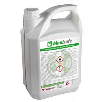 Manisafe - desinfectant mains hydroalcoolique - carton de 2 x 5 l