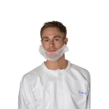 Cache-barbe blanc plp 16 g/m2 - carton de 10 x 100