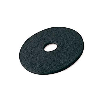 Disques noirs pour autolaveuse (decapage)  diam 410 mm - carton de 5