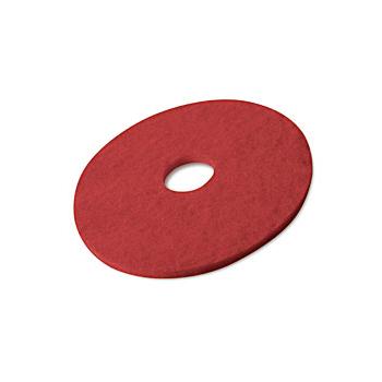 Disques rouges pour autolaveuse (spray methode) 330 mm - carton de 5