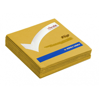 Lavettes non-tissees pva micro jaune 40 x 40 cm - paquet de 5