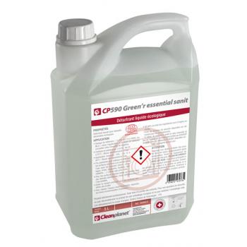 """Cp 590 - detartrant liquide lave-vaisselle alimentaire """"ecocert"""" - bidon de 5 l"""