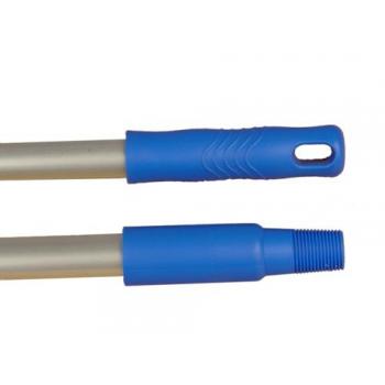 Manche aluminium a visser - fixation italienne - 145 cm - diam 22 mm - unite