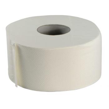 Bobines papier toilette mini jumbo ouate ecolabel 2 plis - paquet de 12 x 160 m