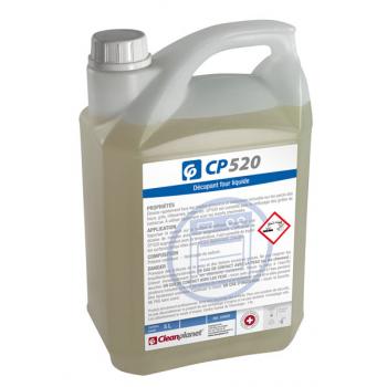 Cp 520 - decapant liquide pour four standard  - bidon de 5 l