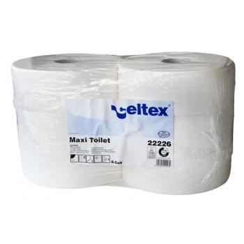 Bobines papier toilette ouate ecolabel 2 plis - paquet de 6 x 360 m