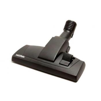 Brosse combinee nilfisk 320 mm avec roue centrale + support - diam 32 mm - unite