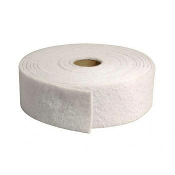 Rouleau abrasif blanc pour entretien 10 x 1000 cm - unite