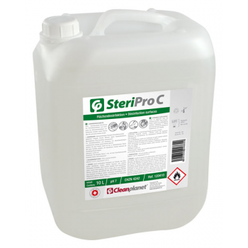 Steripro C 10 L - Solution alcoolique désinfectante de surfaces