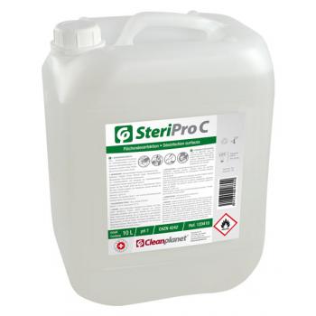 Steripro C - Solution alcoolique désinfectante de surfaces - Bidon de 10 L