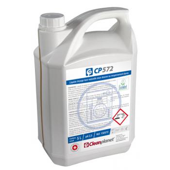 CP572 - Liquide lave.vaisselle eau douce «ECOLABEL» - Bidon de 5 Litres