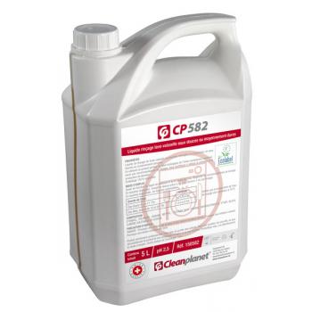 CP582 - Liquide de rinçage lave-vaisselle eau douce «ECOLABEL»- Bidon de 5 Litres
