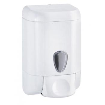 Distributeur de savon à remplissage blanc 500 ML - Unité