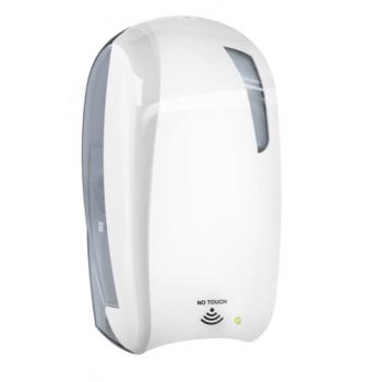 Distributeur automatique de gel Hydro-alcoolique ou savon à remplissage 1.2 L - Unité