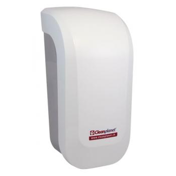 Distributeur de savon manuel STYLE blanc SAVONPAK800 - Unité