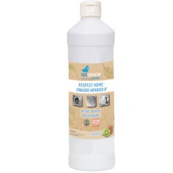 BIO114 - Vinaigre d'alcool ménager 8° Ecodétergent écologique ECOCERT KIWI - Carton de 6 X 1 L